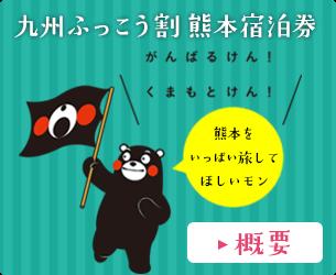 九州ふっこう割熊本宿泊券 概要